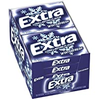 Deals on 10 Pack EXTRA Winterfresh Chewing Gum 15 Pieces