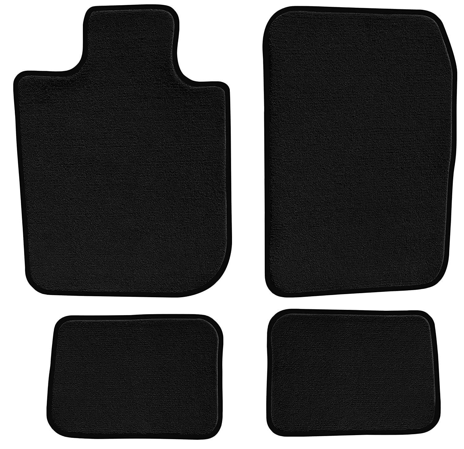 1994 1993 GGBAILEY D4238A-S1A-BK-LP Custom Fit Automotive Carpet Floor Mats for 1992 Passenger /& Rear 1995 Toyota Paseo Coupe Black Loop Driver
