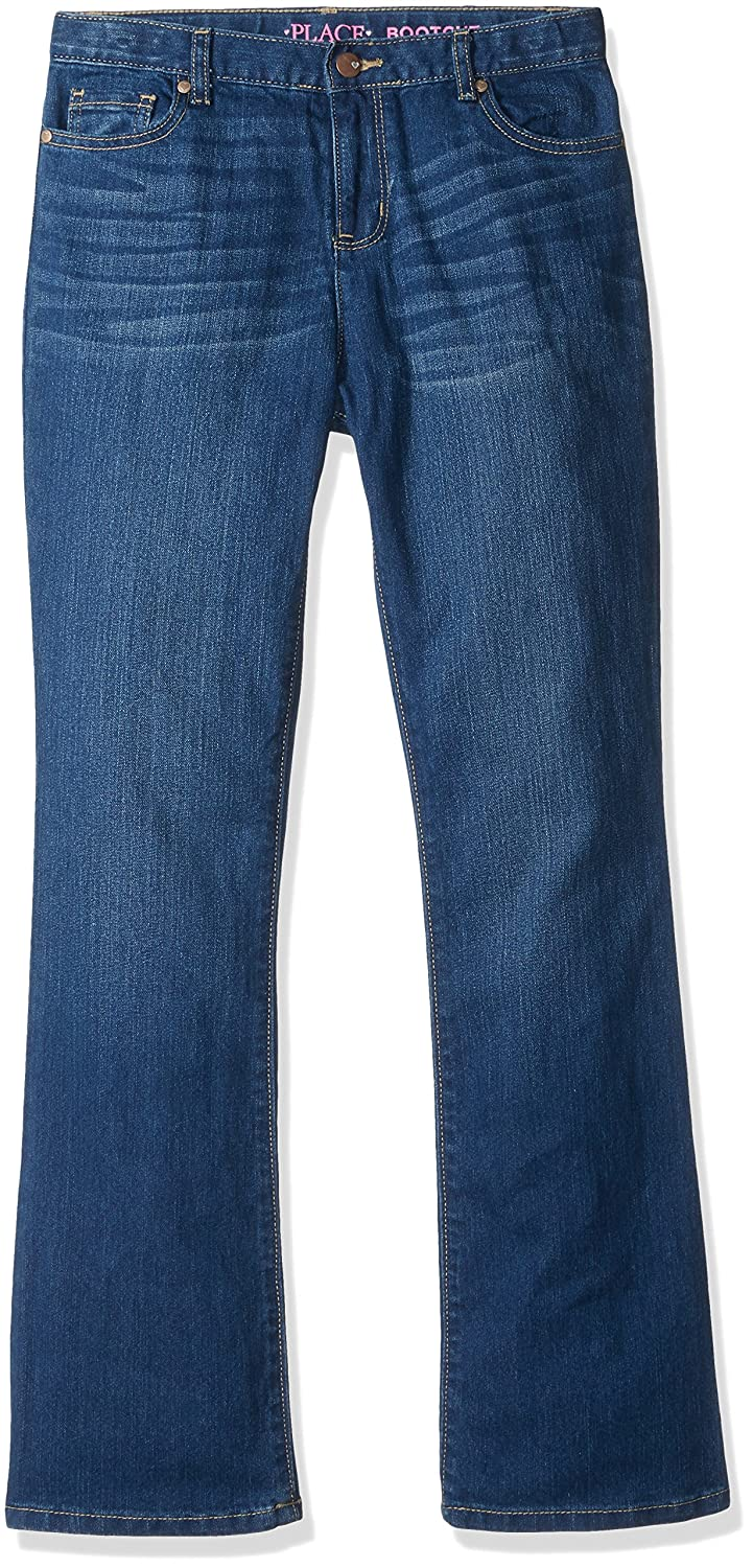 60007188d11 Amazon.com: The Children's Place Girls' Bootcut Jeans: Clothing