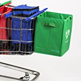 Trolley Bag Extra Bag Sturdy Fold-Out Fabric Shopping Box
