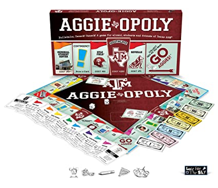 Texas A and M Aggieopoly - Amazon.com: Texas A And M Aggieopoly: Toys & Games