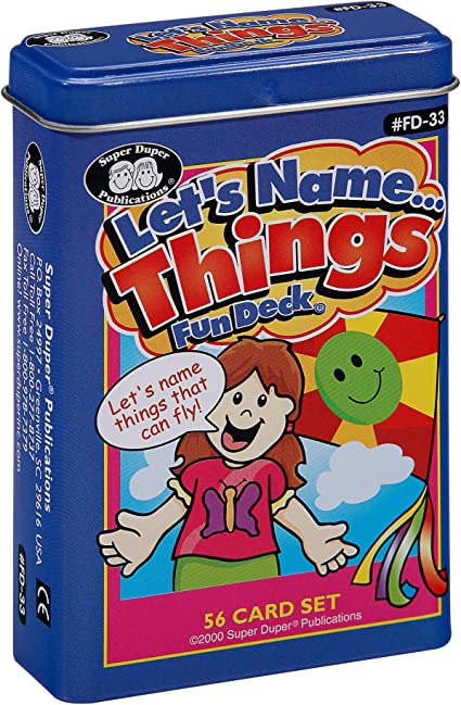Amazon.com: Let 's Nombre... cosas Fun cubierta ...
