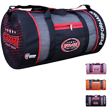 Farabigym Fitness Workout Gear Bag MMA Boxing Holdall Training