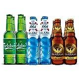 Cerveza Importada Carlsberg, una selección de nuestras mejores cervezas - 12 botellas de 330ml c/u