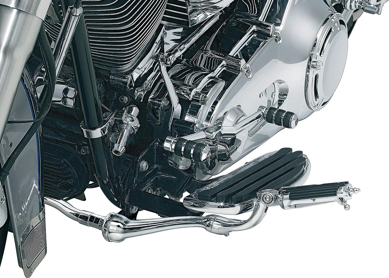Kuryakyn 7840 Motorcycle Foot Controls Standard Length//Short Cruise Arm Mark IV for 2000-17 Harley-Davidson FL Softail Motorcycles Chrome