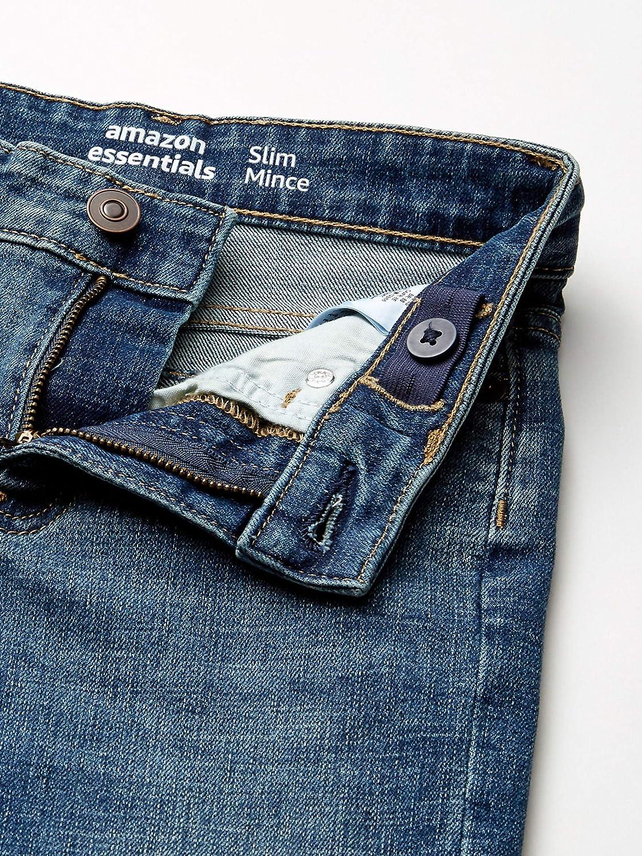 Essentials Boys Slim-Fit jeans Everest Medium Wash