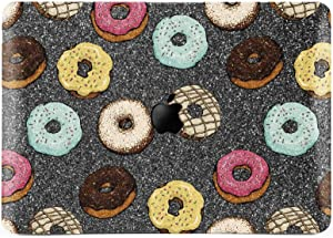 Lex Altern Glitter Case Compatible with MacBook Air 13 inch Pro Mac 15 Retina 12 11 2020 2019 2018 Doughnuts Gray Bling Cute Cover Hard Food Rhinestone Laptop Protective Girly Print Touch Bar Kids