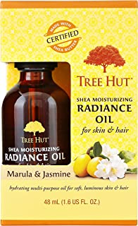 product image for Tree Hut Shea Moisturizing Radiance Oil Marula & Jasmine, 1.6oz, Ultra Hydrating Oil for Nourishing Essential Body Care