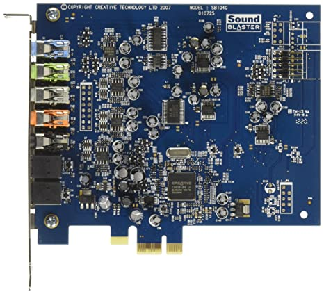CREATIVE Sound Blaster X-Fi Xtreme - Tarjeta de audio PCI Express