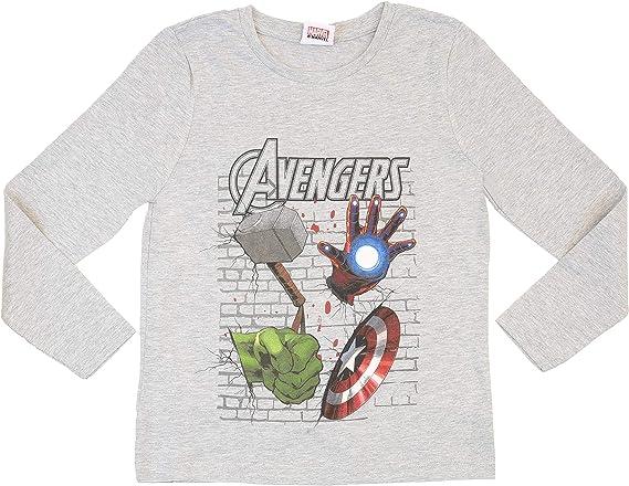 Marvel Camiseta Avengers Endgame Capitán América para Chicos Boys ...