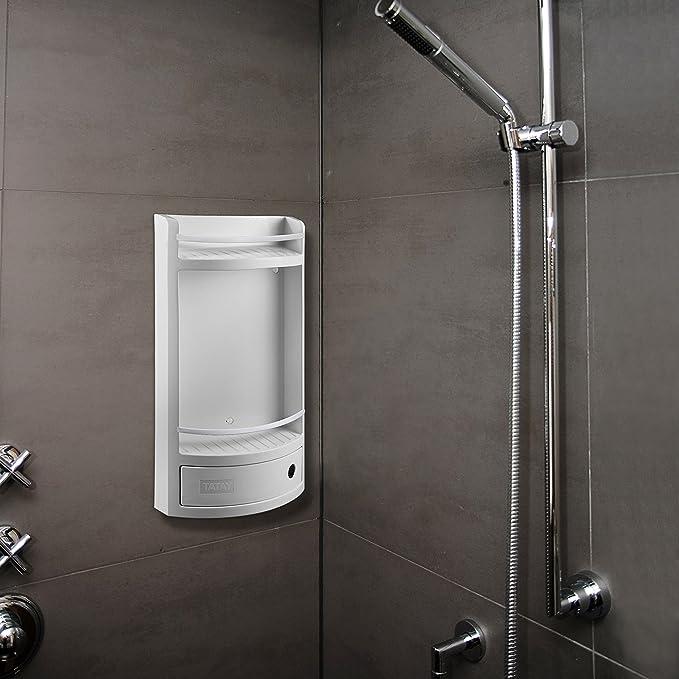 Tatay 4432101 - Mueble de baño con cajón Blanco, 29 x 11 x 51 cm: Amazon.es: Hogar