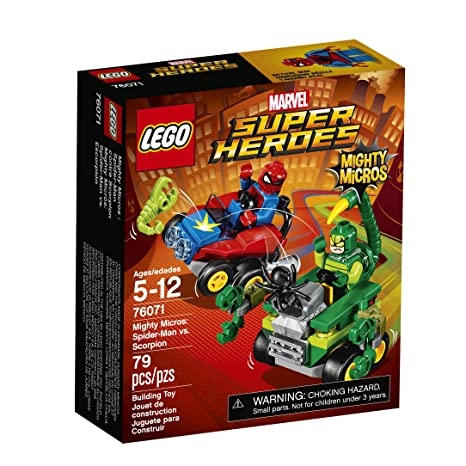 Amazon.com: LEGO Super Heroes Mighty Micros: Spider-Man vs. Scorpion ...
