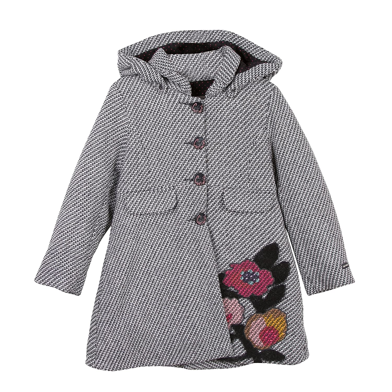 Catimini Girl's Mant. Lain. Fan Coat CK44093
