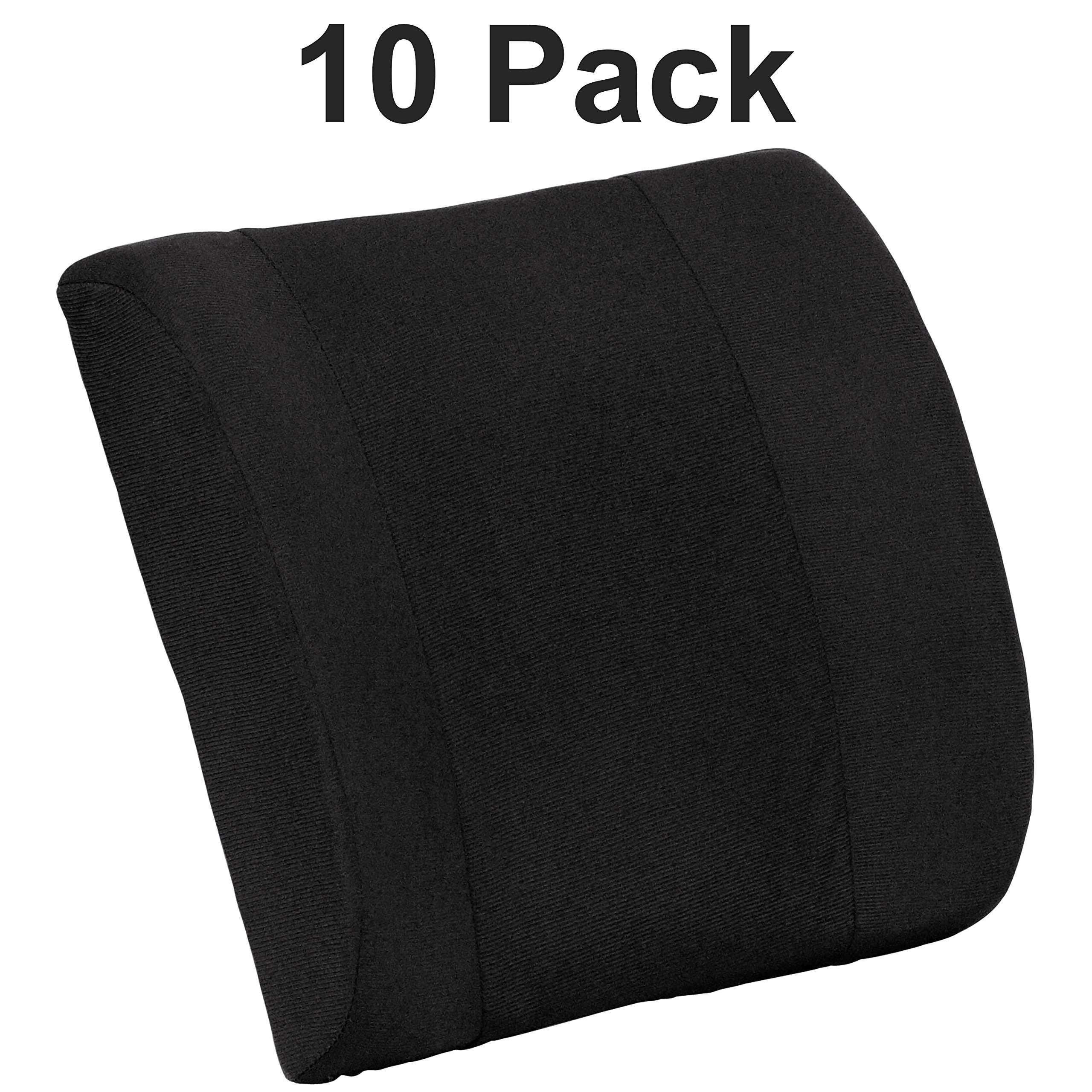 Flash Furniture 10 Pk. Lumbar Cushion with Strap by Flash Furniture