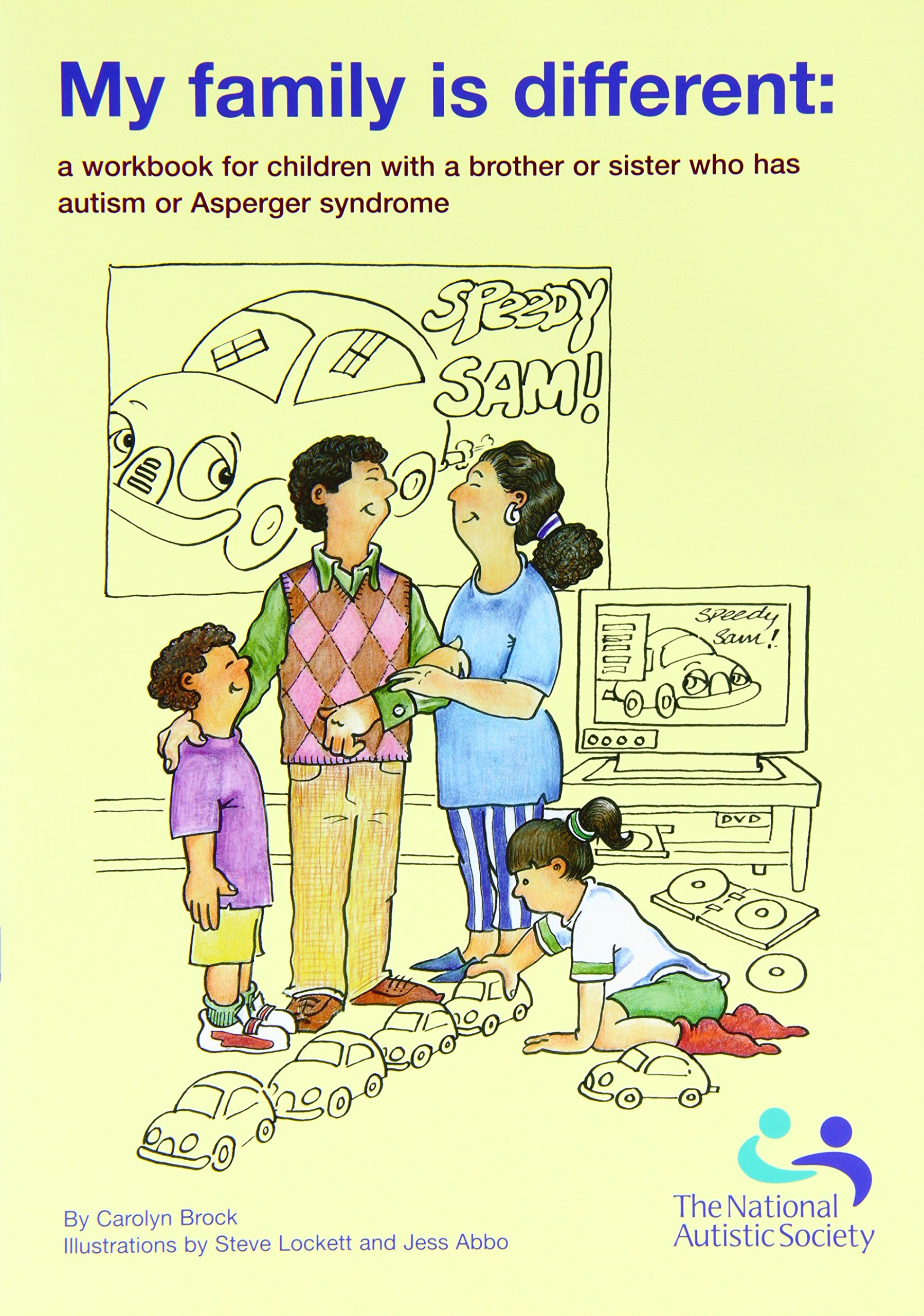 My Family is Different A Workbook for Children with a Brother or