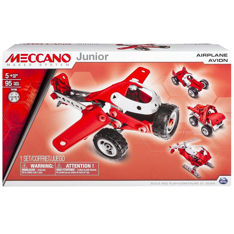 Mecano - Juego de construcción - - 6026701 Plano - 4 Modelos mecano Junior