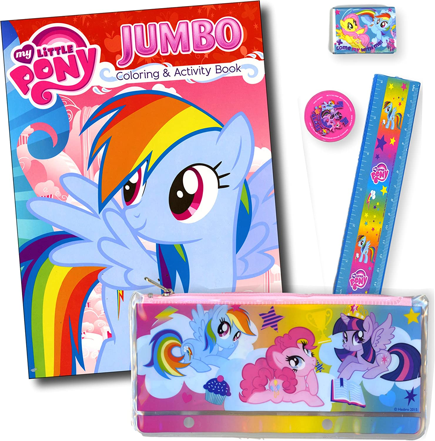 - Amazon.com: My Little Pony Coloring And Activity Book - Featuring