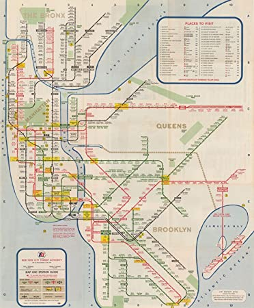 new york city transit maps new york city subway map and guide 196724in