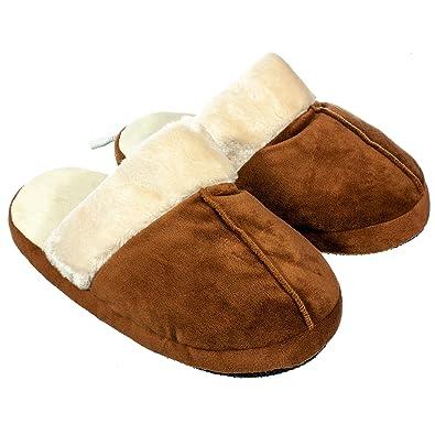 Amazon.com: Calming Covers - Zapatillas de peluche con ...