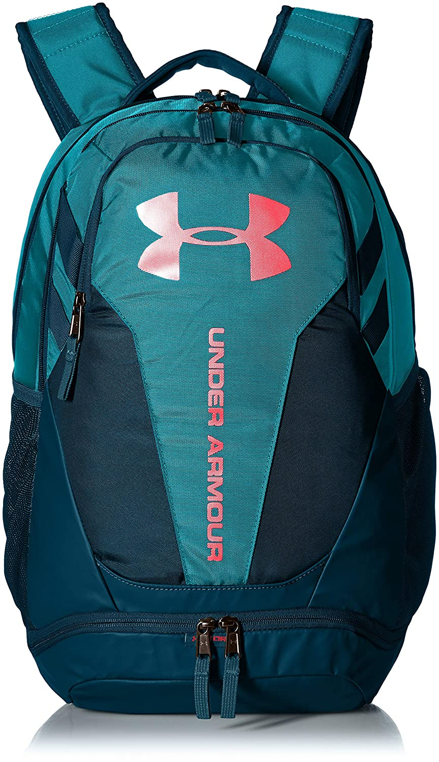 Under Armour UA Hustle 3.0 Mochila, Unisex Adulto, Azul (Deceit/Techno Teal/Magma Orange 439), Talla única: Amazon.es: Deportes y aire libre