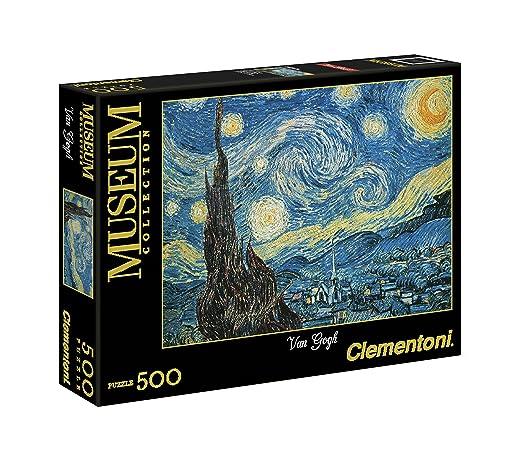 189 opinioni per Clementoni 30314- Puzzle Museum Collection Van Gogh- Notte Stellata, 500 Pezzi