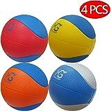 Macro Giant発泡ソフトカラフルバスケットボール-15cm (直径)- 4入,キッドボール,練習,様々な色