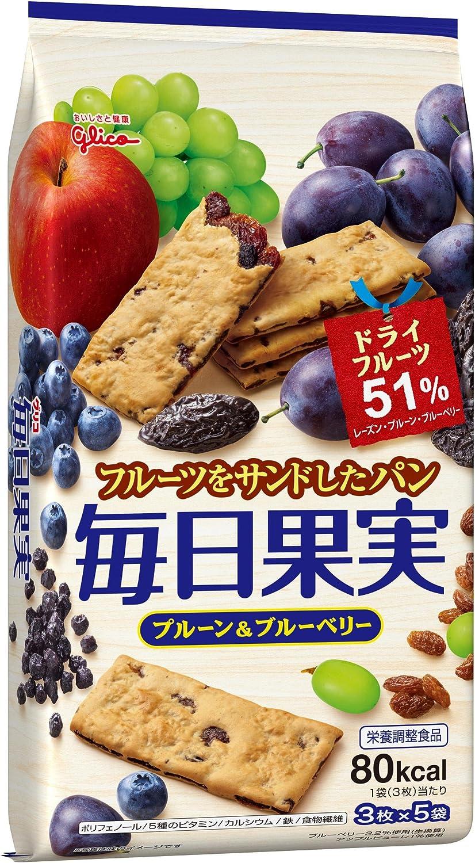 【江崎グリコ】毎日果実 15枚