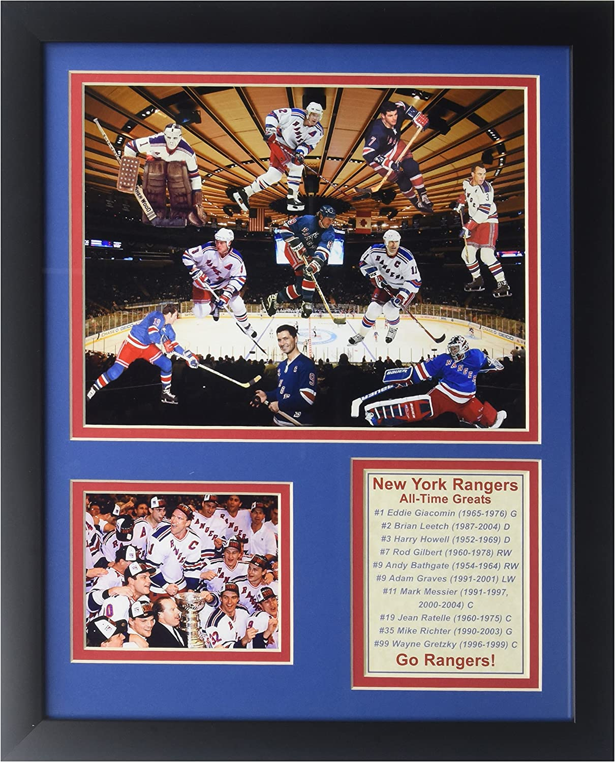 Legends Never Die NHL All Time Greats Double Matted Photo Frame