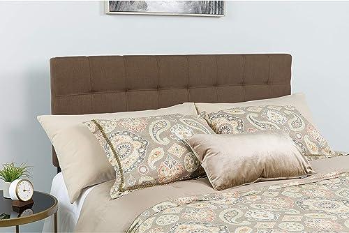 Flash Furniture Bedford Tufted Upholstered King Size Headboard