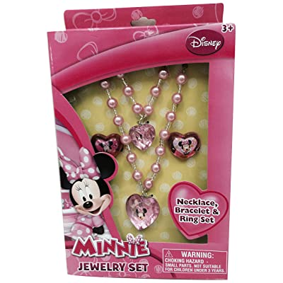 Minnie Mouse Jewelry Box Set, 1: Toys & Games