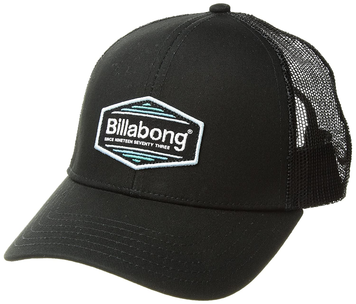 ec8fbb203123be Amazon.com: Billabong Men's Walled Trucker, Black/Blue ONE: Clothing