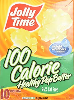 product image for Jolly Time Popcorn 100 Calorie Healthy Pop Butter Mini Bags - 10 CT
