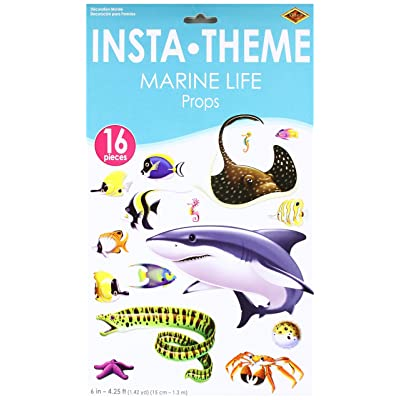 Marine Life Props Party Accessory (1 count) (16/Pkg): Toys & Games