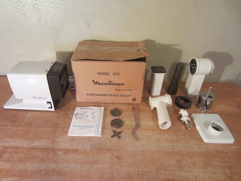 Amazon.com: Moulinex La Machine The Kitchen Works #252 Meat ...
