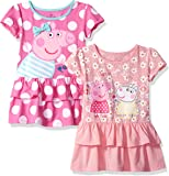 Peppa Pig Toddler Girls' 2 Pack Dresses