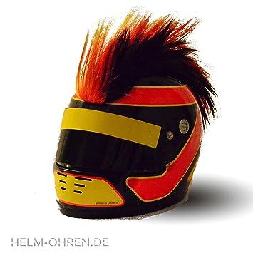 6398fdf5b20 Crête pour casque aux couleurs de l Allemagne