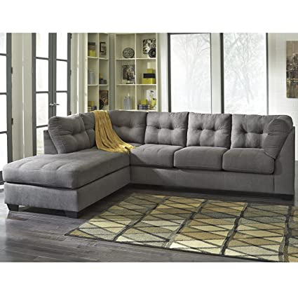 Amazon Com Flash Furniture Benchcraft Maier Sectional With Left