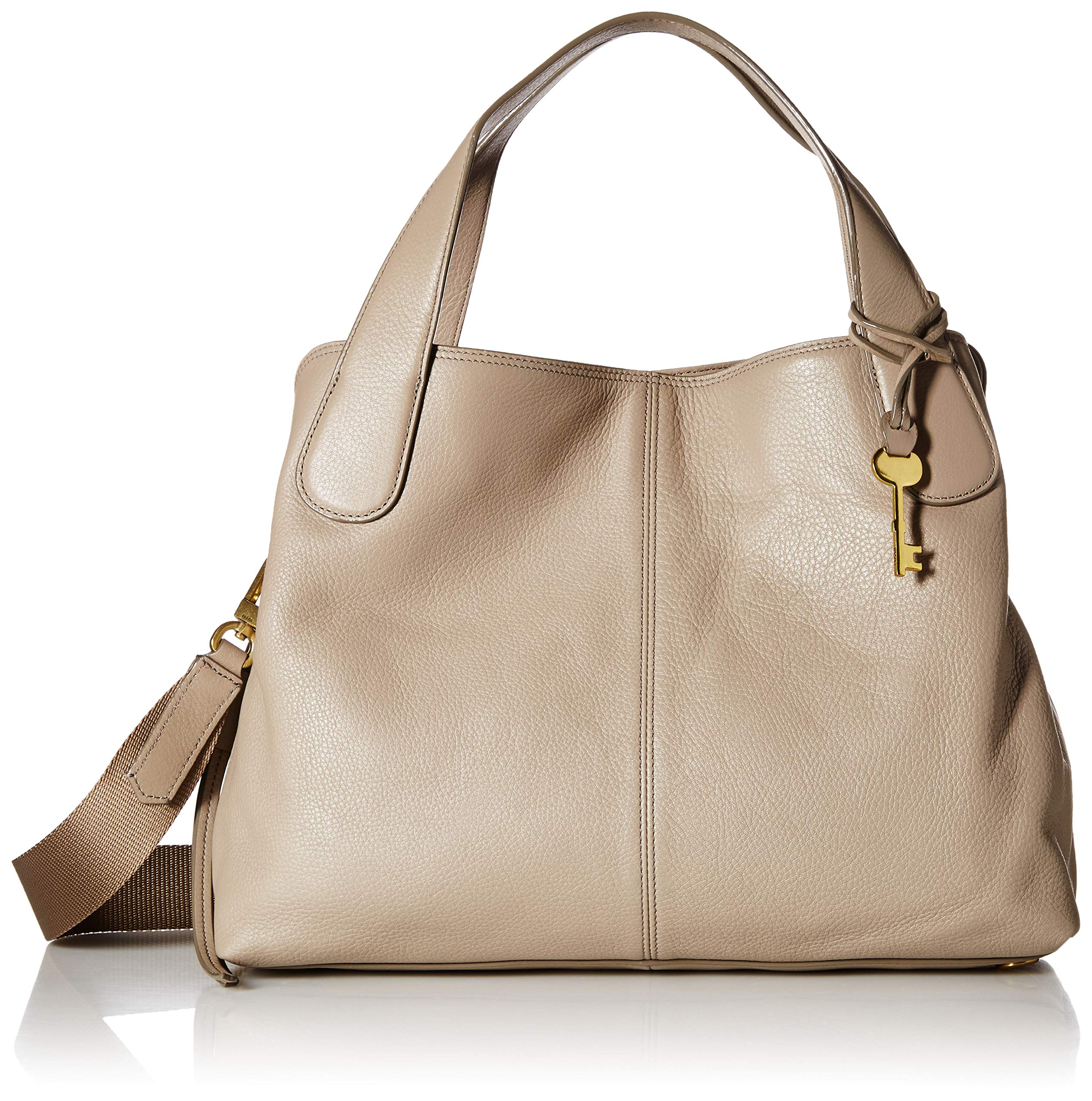 Fossil Maya Satchel Light Taupe, One Size
