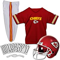 $49 » Franklin Sports NFL Kids Football Uniform Set - NFL Youth Football Costume for Boys & Girls…