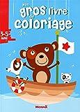 Mon gros livre de coloriage : Ours 3-5 ans