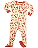 Leveret Baby Girls Footed Pajamas Sleeper