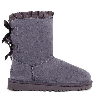 c81047051f6 UGG Girls Bailey Bow Ruffles Boot