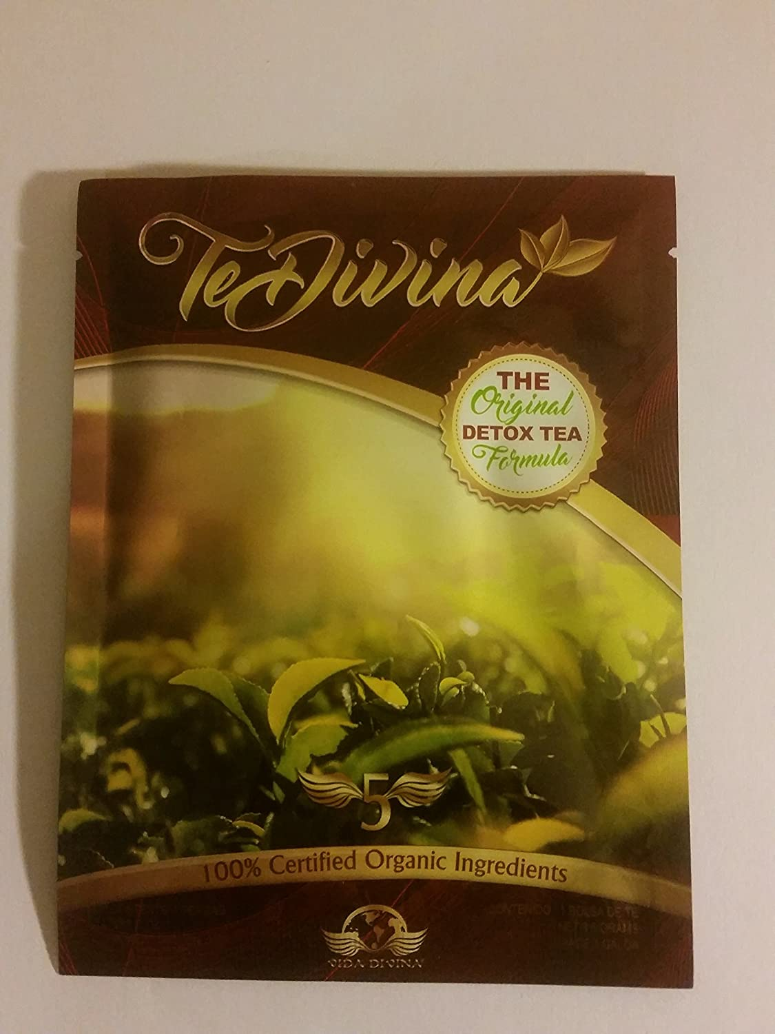 Amazon.com: Tea Divina - Vida Divina Detox Tea One Week Supply 1 ...