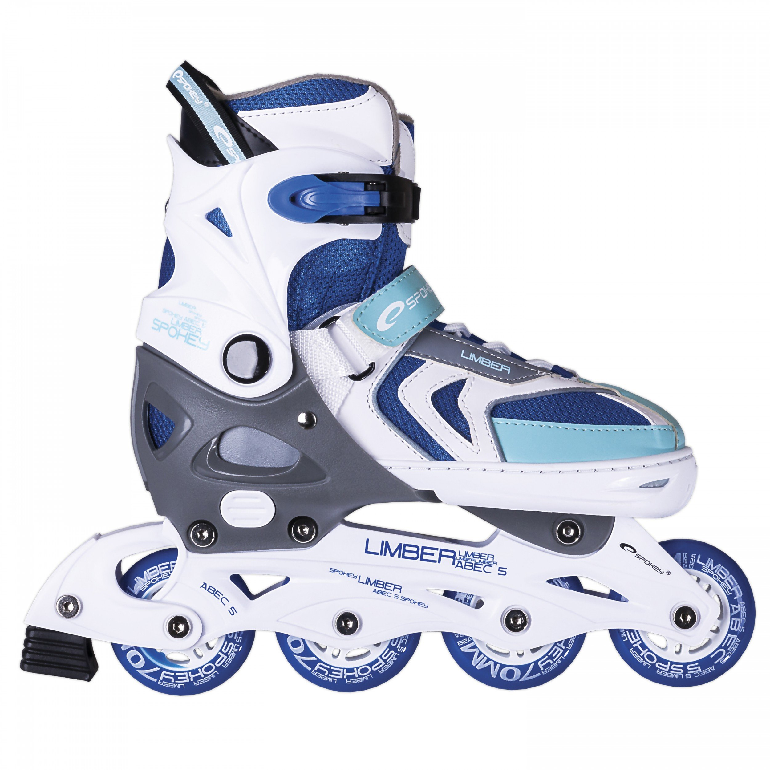Skates for Kids Youths Sizes Adjustable ABEC 7 Carbon Spokey