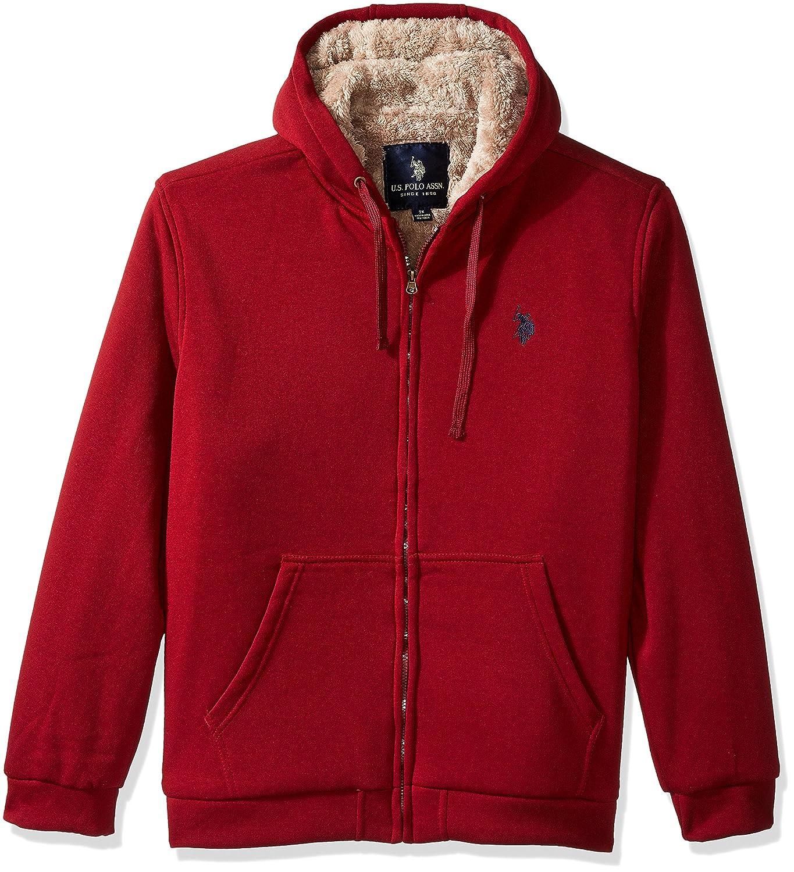 U.S. Polo Assn. OUTERWEAR メンズ B01LQ7E844 2X|University Red Ggbf University Red Ggbf 2X