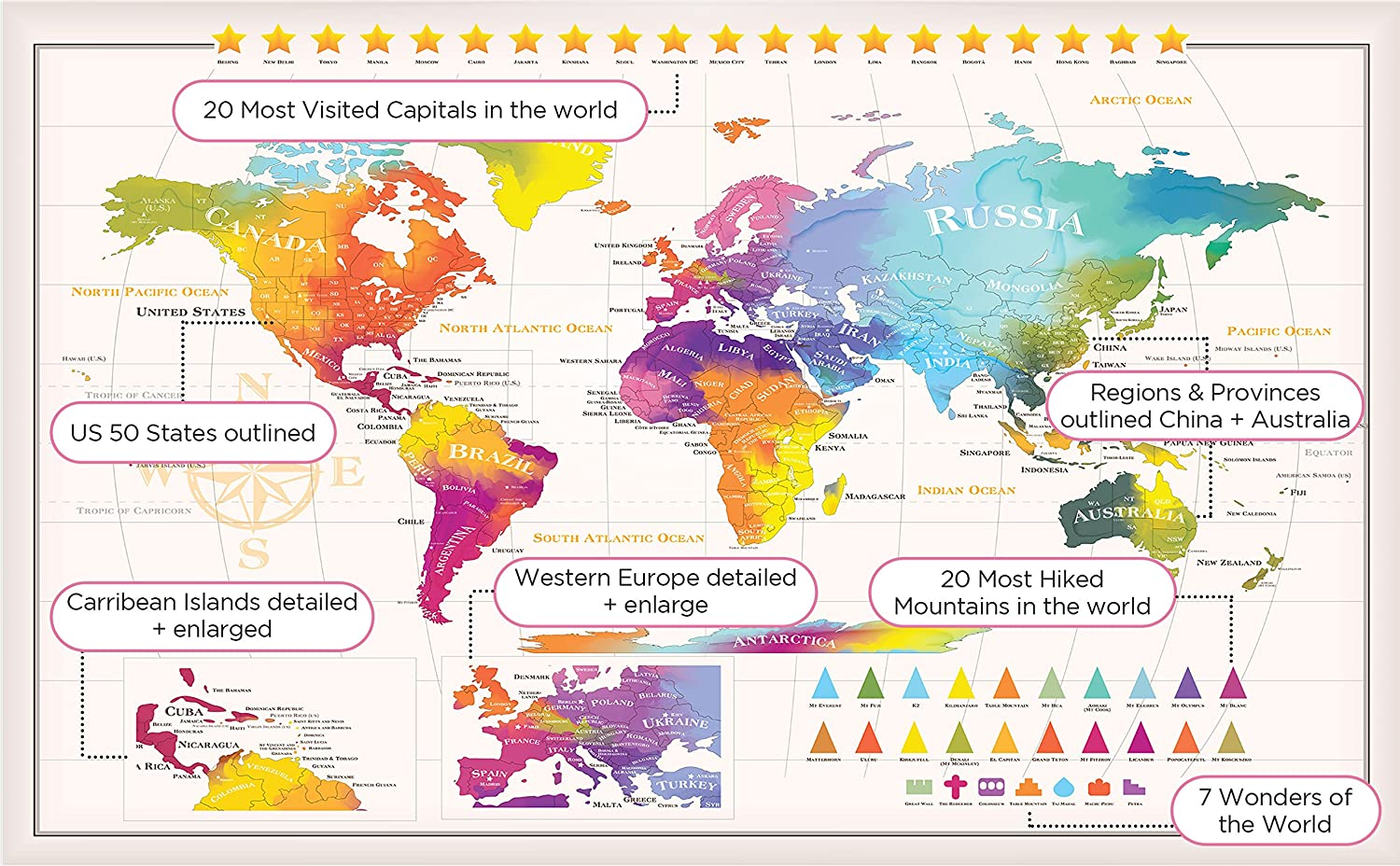 Zil on world map images diagram writing sample ideas and guide world map zil location image collections diagram writing sample amazon extra large scratch off world map sciox Images
