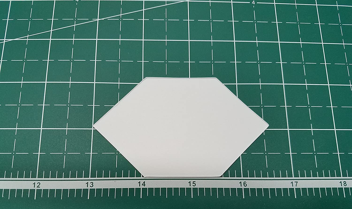 1.5 Elongated Hexagon English Paper Piecing EPP Set of 100
