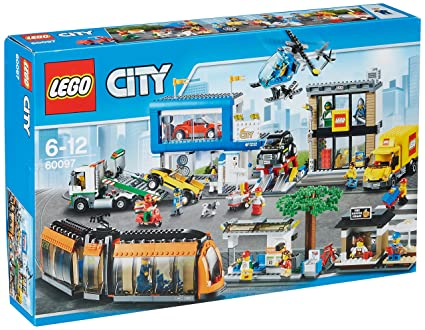 fashion styles on feet images of best prices LEGO - City 60097 Piazza Della Città