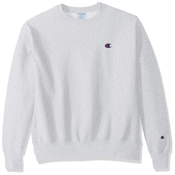 3221472a Champion Life Mens Reverse Weave Sweatshirt, XS, Silver Grey: Amazon ...