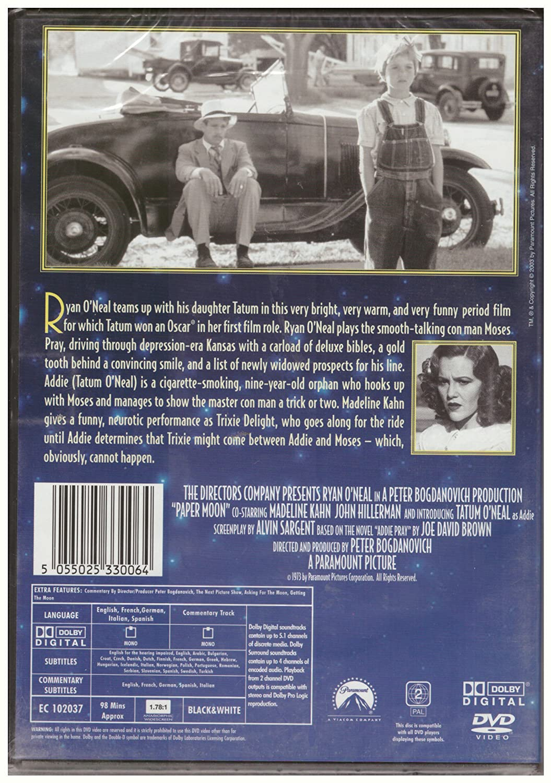 Paper Moon - Ryan & Tatum ONeal [DVD] by Ryan ONeal: Amazon ...